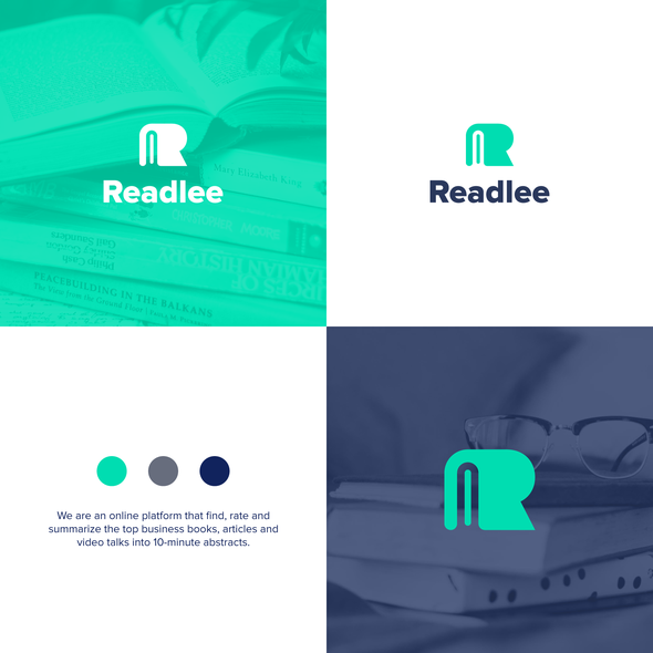 Reading design with the title 'Book + R'