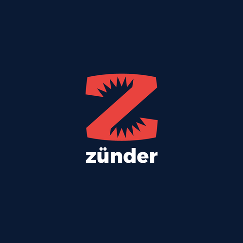 Ignite logo with the title 'zunder (spark) logo'