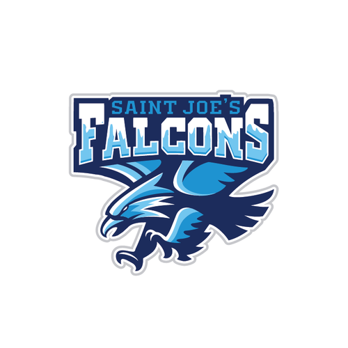 Eagle design with the title 'Falcons'
