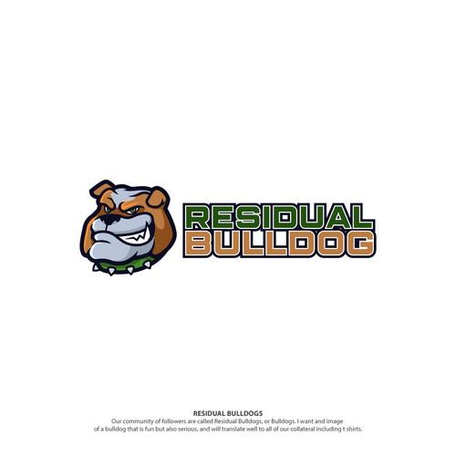 Bulldog logo with the title 'Residual Bulldog Contest Entry'