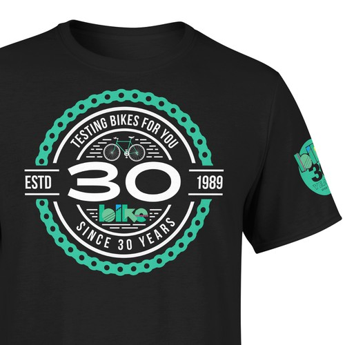 Anniversary t-shirt with the title '30th Anniversary Tshirt (on sale)'