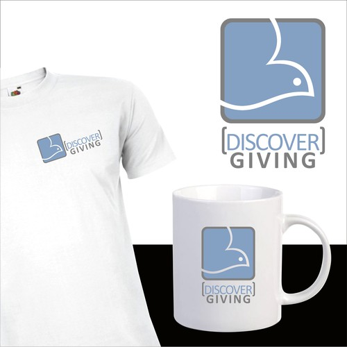 Give logo with the title 'Discover Giving'