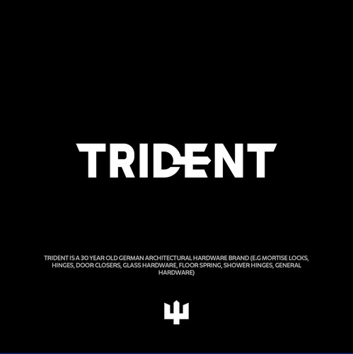 Trident logo with the title 'TRIDENT'