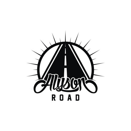 Choir logo with the title 'Alyson road band'