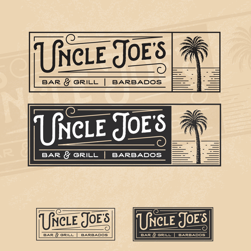 Cuban logo with the title 'Uncle Joe's'
