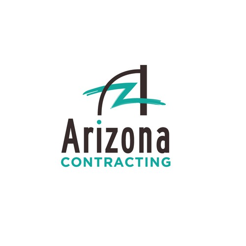 Remodeling logo with the title 'Contacting and remodeling business based in Arizona '