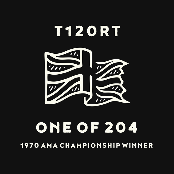 Punk logo with the title 'Logo Design for T120RT '