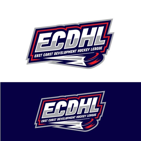 Recreation logo with the title 'Bold Hockey League logo'