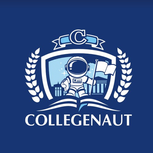 College logo with the title 'COLLEGENAUT'