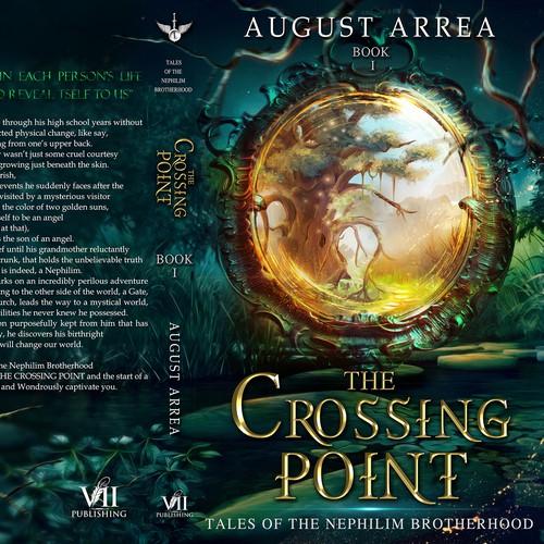 Portal design with the title 'book cover fantasy portal'