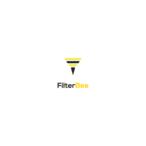 Filter design with the title 'Logo Concept for FilterBee'