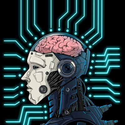 NMT cyborg illustration