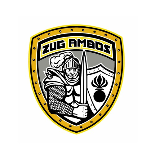 Armor logo with the title 'Zug Ambos'