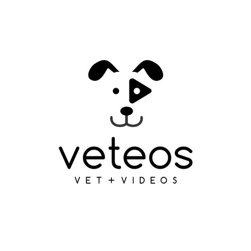 Clean and simple logo with the title 'Veteos'