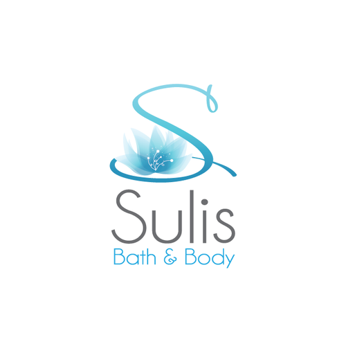Product logo with the title 'elegant fresh spa logo'