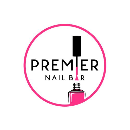Nail logo with the title 'Premier Nail Bar'