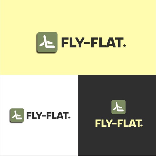 Seat design with the title 'Fly-Flat'