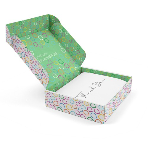 Mailer box packaging with the title 'Mailer Box'
