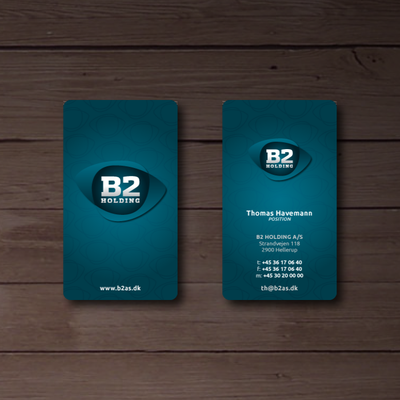 Create the next stationery for B2 HOLDING A/S