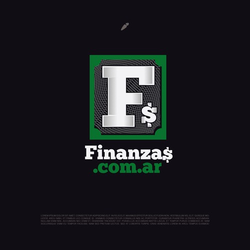 Argentina design with the title 'Finanzas'