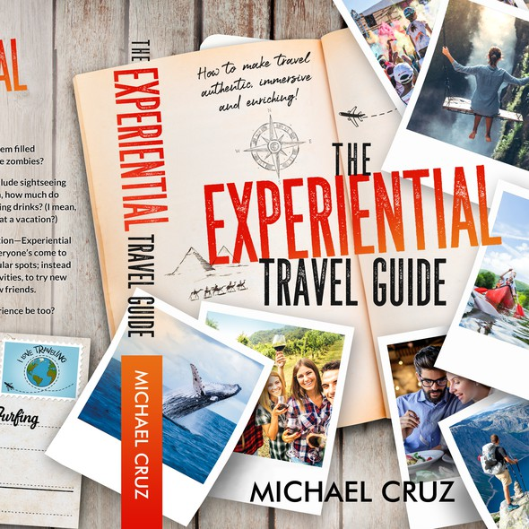 Journal book cover with the title 'The Experiential Travel Guide'