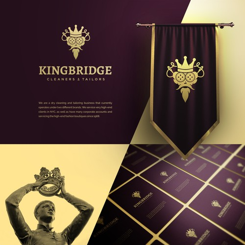Tailor design with the title 'Fun project for KingBridge!'