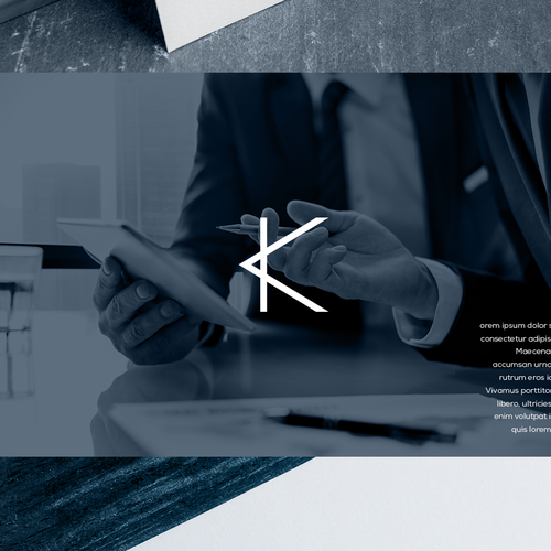 Direction design with the title 'Krysse'