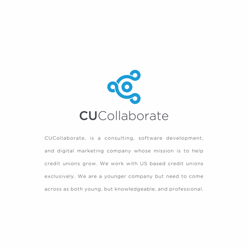 Collaboration design with the title 'CUCollaborate'
