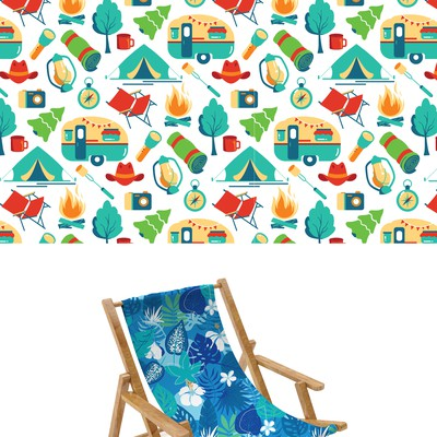 Camping pattern designs
