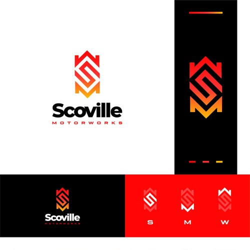 Combination brand with the title 'Logo for Scoville'