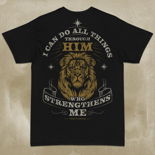 Christian t-shirt with the title 'T-Shirt design'