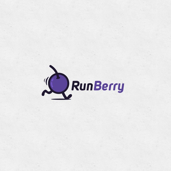 Quick logo with the title 'RunBerry'