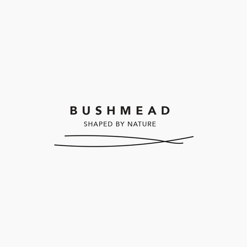 Brush logo with the title 'Logodesign for Bushmead'