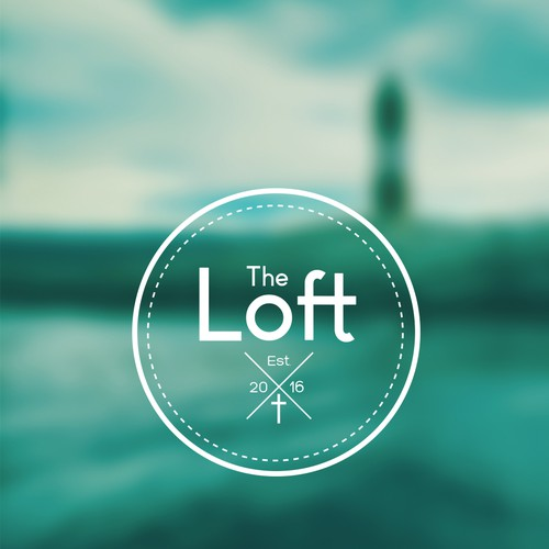 Loft logo with the title 'Logo for youth group. '