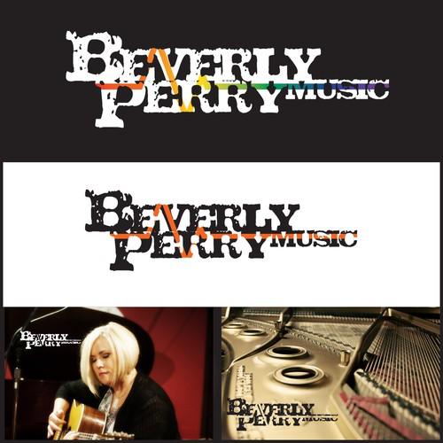Lyric logo with the title 'Create the next logo for Beverly Perry'