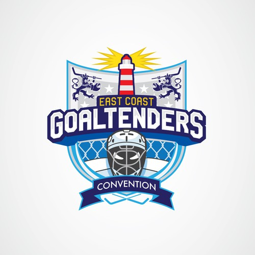 Trade convention logo with the title 'Logo for Sport Convention'