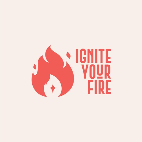 Ignite logo with the title 'Ignite Logo'
