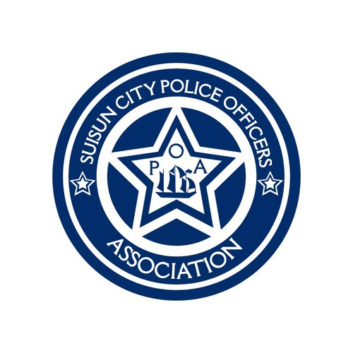 Police logo with the title 'Suisun City Police Officers Association (POA) needs a new logo'