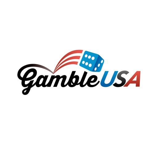 American logo with the title 'GambleUSA logo concept'