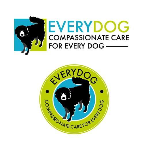 Dog training logo with the title 'Every Dog'