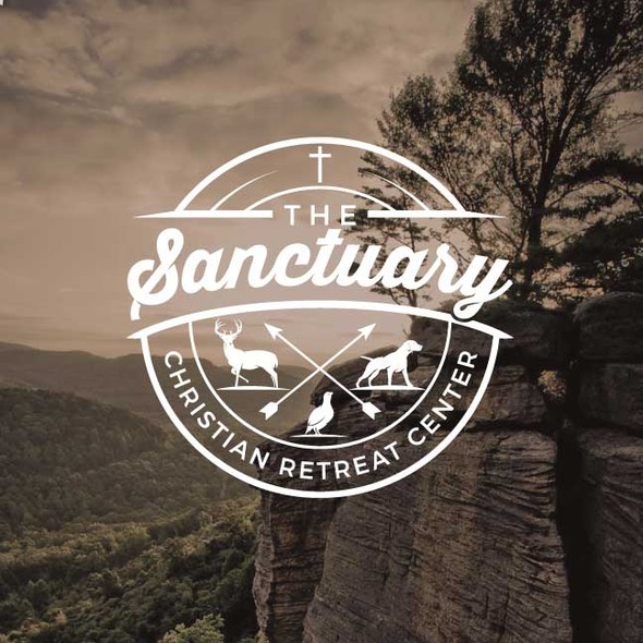 Retreat logo with the title 'The Sanctuary'