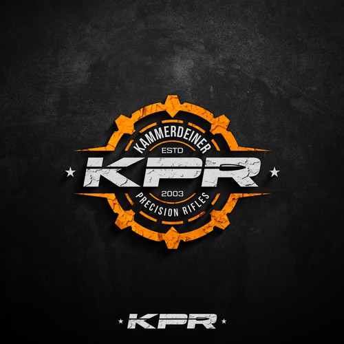 Military design with the title 'Logo design for KPR'
