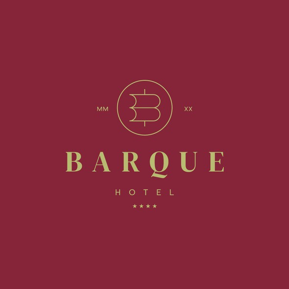 Boat brand with the title 'Barque Hotel'