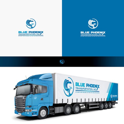 Phoenix brand with the title 'Blue Phoenix Transportation, Inc'