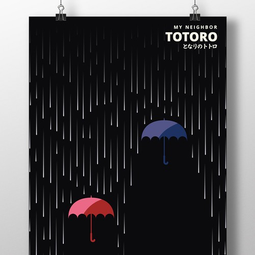 Rain design with the title 'Minimal Poster'