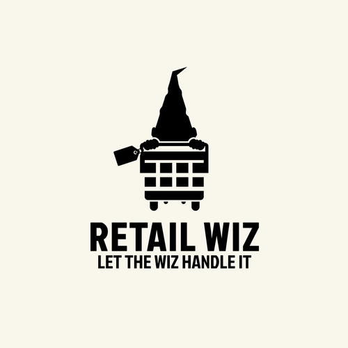 Trolley logo with the title 'Retail Wiz'