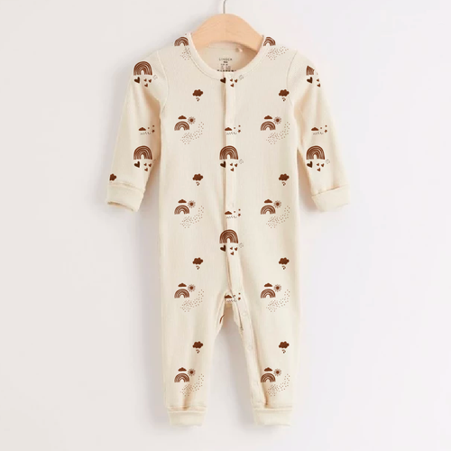 Baby boutique design with the title 'Boho baby fabric'
