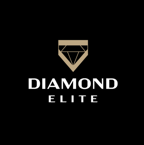 Yellow and brown design with the title 'Diamond Elite'
