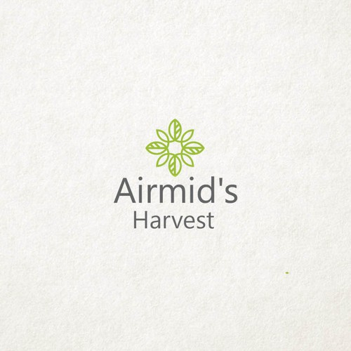 Salad design with the title 'Airmid's Harvest'