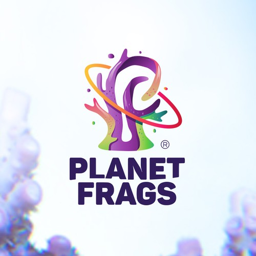 Sea logo with the title 'Planet Frags'